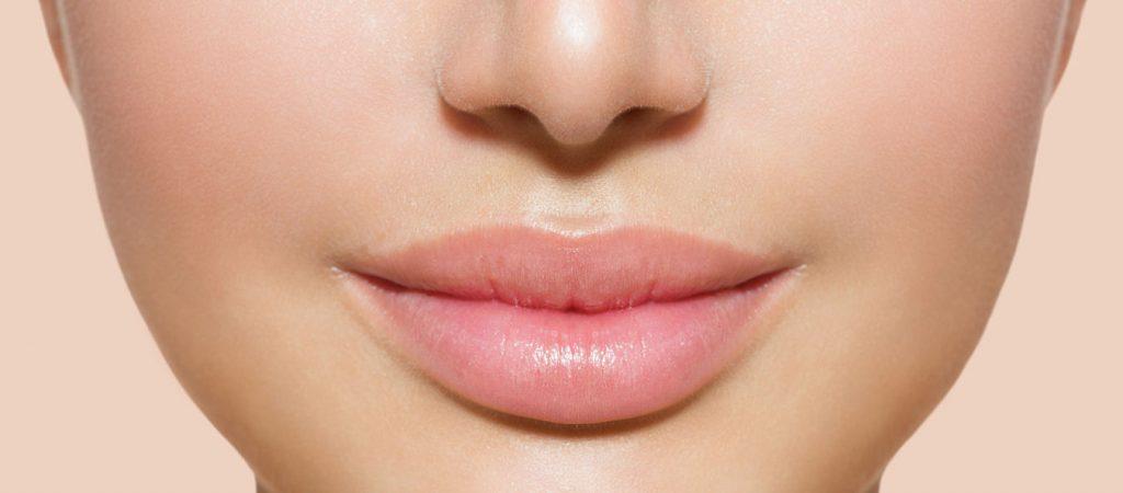 Beautiful Perfect Lips. Sexy Mouth Closeup